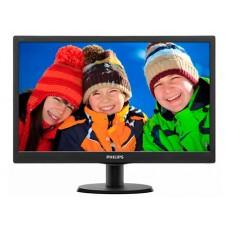 """18,5"""" LCD Philips 193V5LSB2/10/62 LED 16:9, 200кд, 5ms, 1366x768, 700:1, Black"""